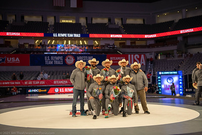 2021 Olympic Trials Finals Team presentations and photos