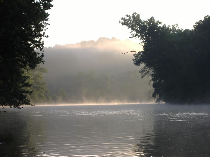 James River morning