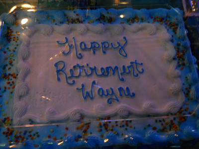 Wayne Shield's Retirement