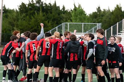 CCS Varsity Boys Soccer vs Harding Charter