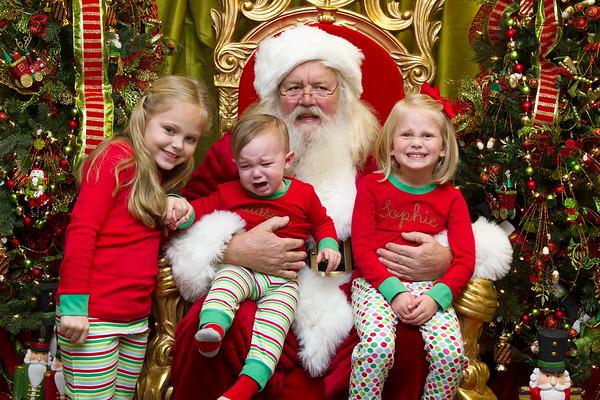 Seeing Santa, 2014