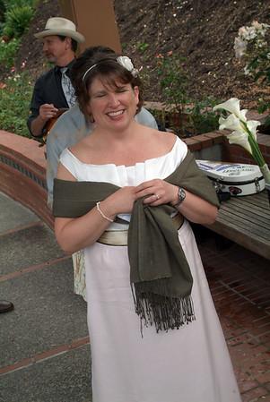 Sarah and Dan's wedding day