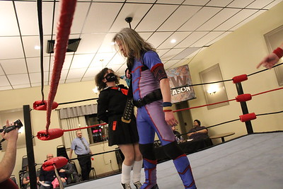 "NCW New England Championship ""Insane"" Dick Lane with Delilah Hayden vs. Tim Kilgore with Blaze Bazuco"
