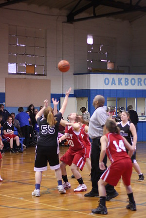 01-12-10 Oakboro vs Endy Girls