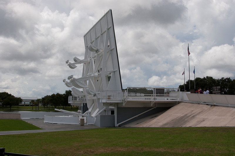 The Astronaut Memorial at the Kennedy Space Center Visitor Center