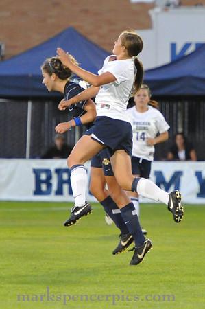 BYU Soccer vs Marquette 9-11-2010