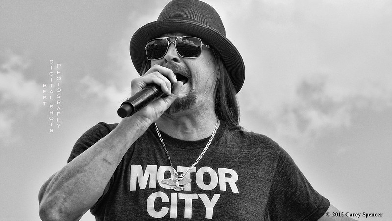 Kid Rock Concert Photography Carey Spencer