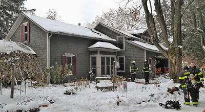House fire - Baker Road West Bloomfield, NY - 11/13/19