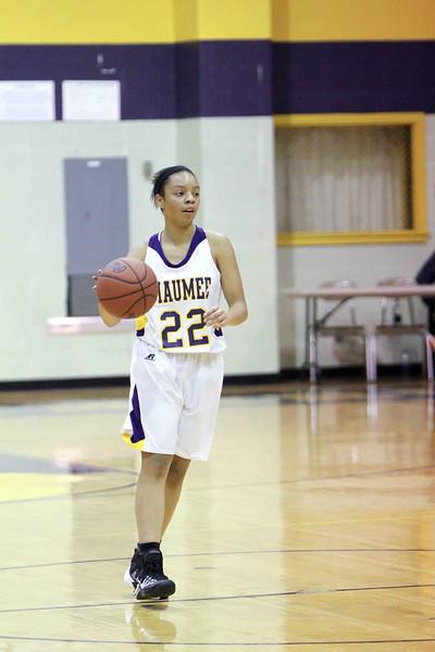 12-03-13 Maumee vs Rossford Varsity Girls Basketball