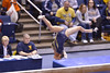 MORGANTOWN, WV - MARCH 8: WVU gymnast Alexa Goldberg competes on the balance beam during a dual meet March 8, 2015 in Morgantown, WV.