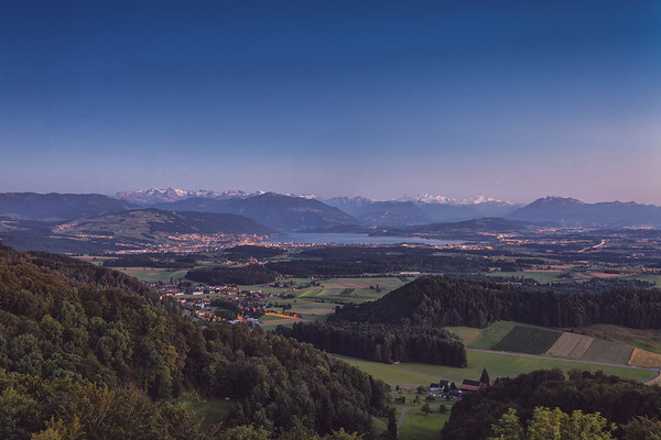 Zugersee-Berner Alpen