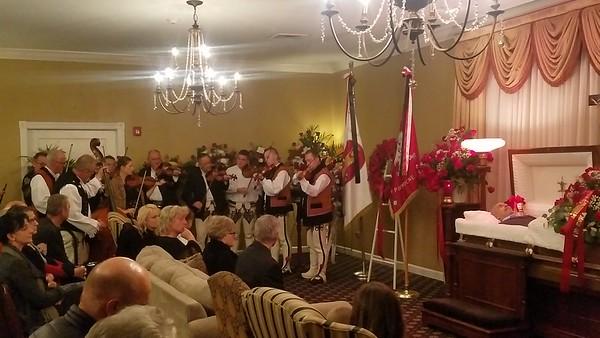 Uroczystość pożegnalna Śp. Stanisława Studenckiego w Domu Pogrzebowym Damar Kamiński