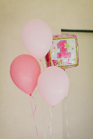 Everly's 1st Birthday