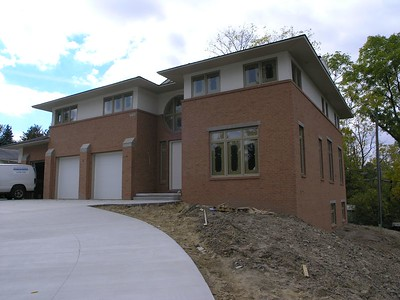 CUSTOM HOME - CONTEMPORARY - WEST BLOOMFIELD, MI
