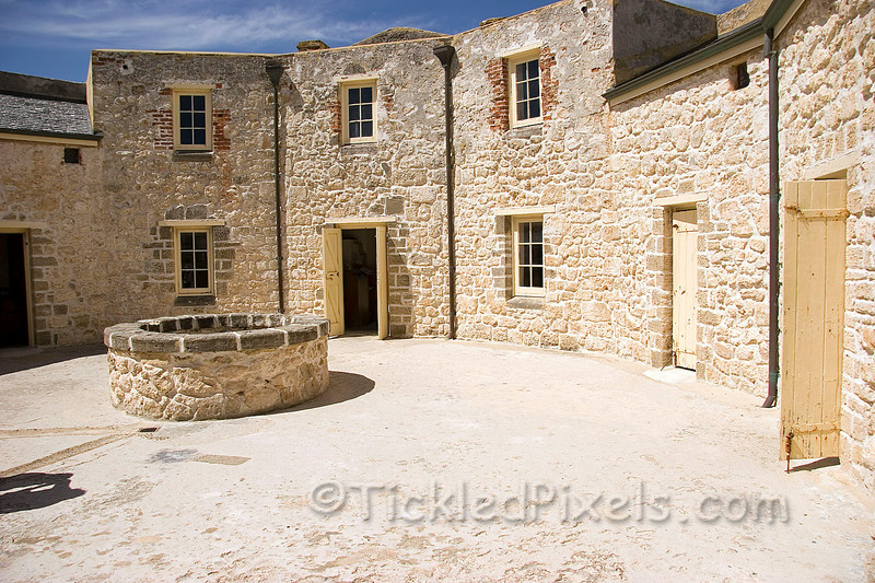 The Round House Courtyard. Fremantle