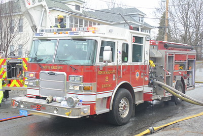 North Andover, MA  3rd Alarm - 2nd St IAO Waverly Rd - 4/4/14