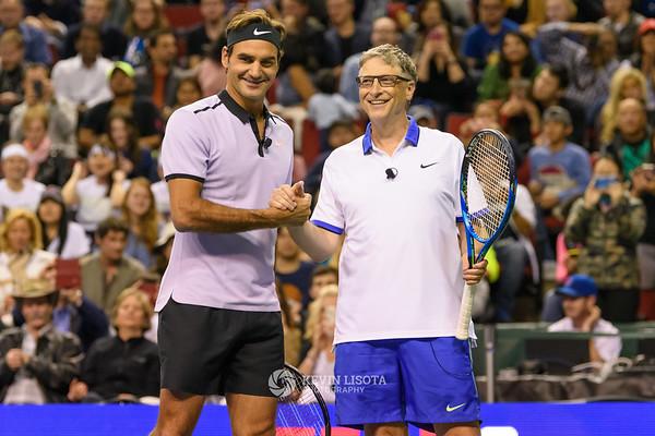 Match for Africa - Roger Federer, Bill Gates, John Isner & Mike McCready