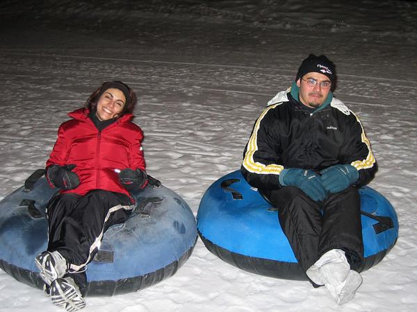 Intern Ski Trip 2003 - Tubing