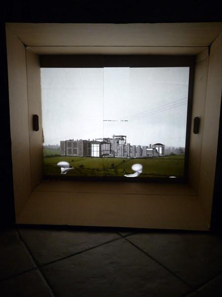 Chrysalids - 2015 - 3d animation - cardboard box - projection