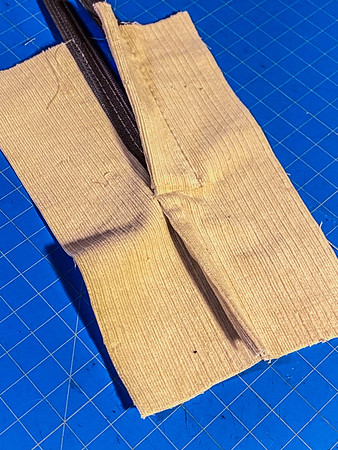 How to: zipper in a flat-fell seam