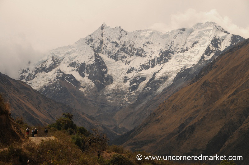 Walking Towards Humantay Peak - Salkantay Trek, Peru