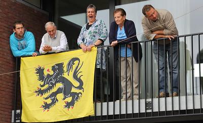 Bloemencorso 2011 - Langs het parcours