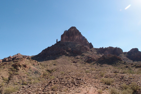 Castle Dome Peak  11.11.12