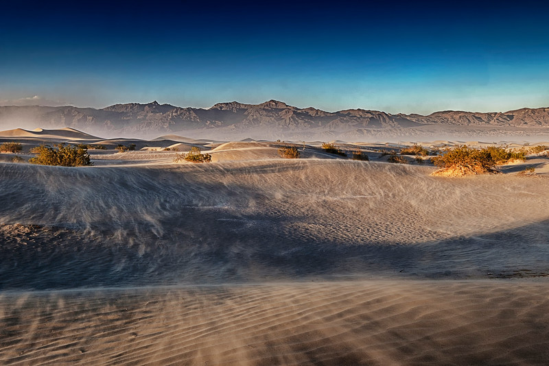 Death Valley, CA - Mesquite Flat Dunes