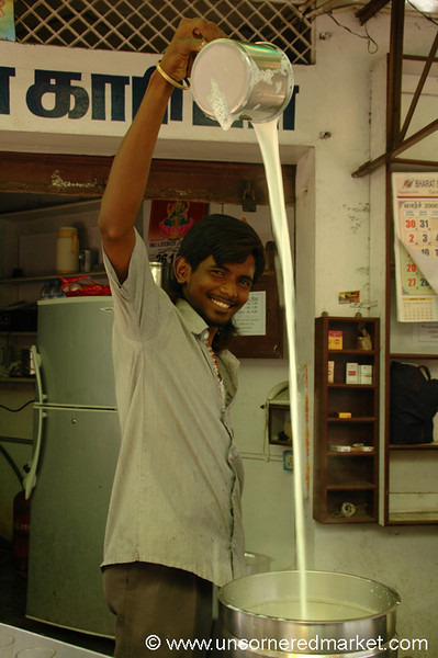 Indian Coffee with a Smile - Pondicherry, India