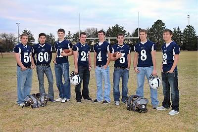 Senior Football Players 2012