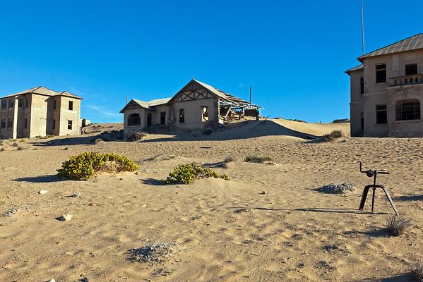 Namibia: ghost town of Kolmanskop