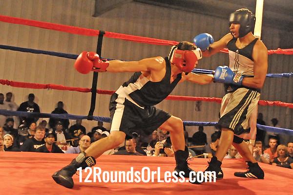 Bout 8 Ramiro Hernandez, Zelma George/Empire Boxing -vs- Elhan Nevzadi, UBA 132 lb Open