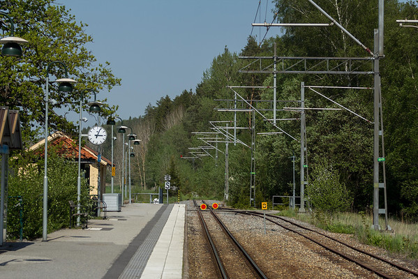 Kårsta - train station