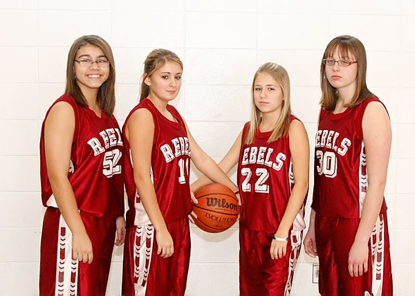 SNHS Girls Basketball Team 2008