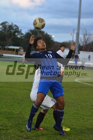 Boys JV Soccer vs Okeechobee 01*24*20