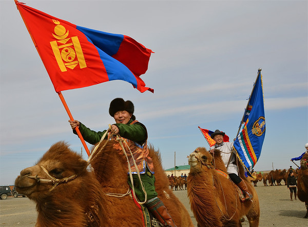 Thousand Camel Festival, South Gobi Desert, Mongolia (March 2013)