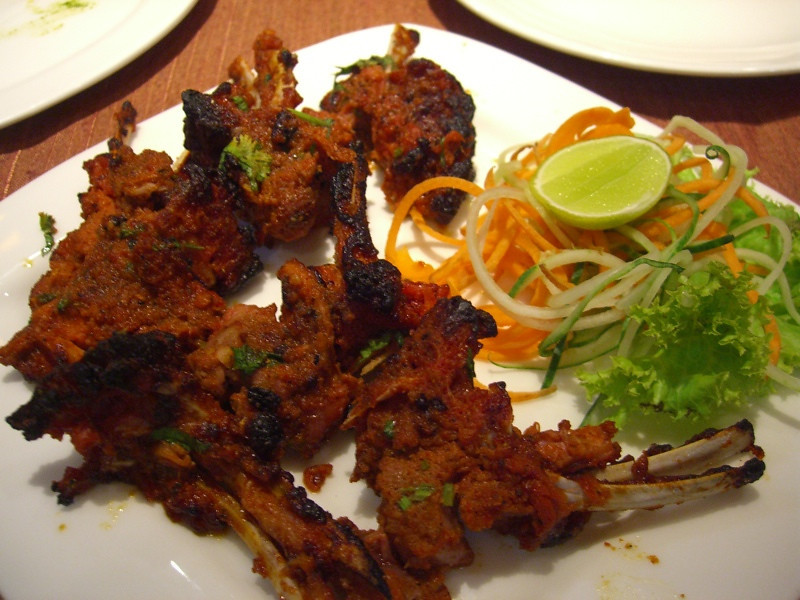 Tandoori Lamb - Chandigarh, India