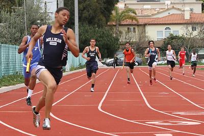4 x 100m