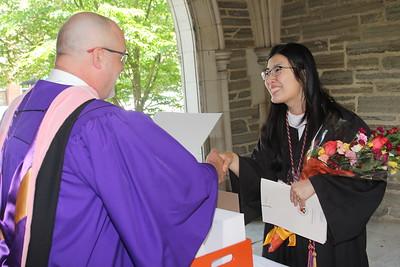 Rockefeller College Diploma Distribution