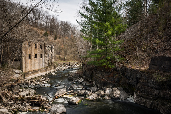 Cascade Mills ~ The Keuka Trail ~ Penn Yan, New York