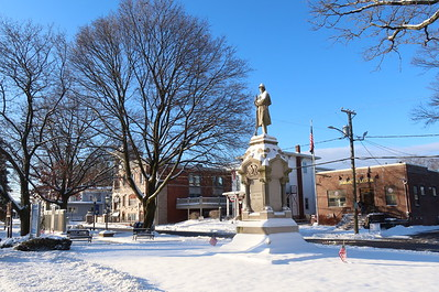 Downtown Southington and Plantsville - January 19, 2020