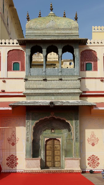 Green Gate - City Palace - Jaipur