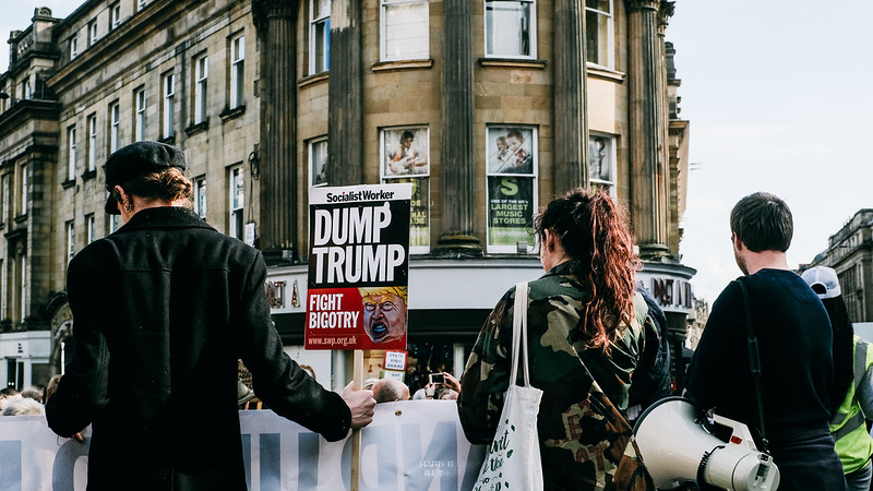 Anti - Trump Demo - June 2019