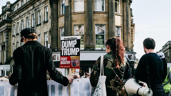 Anti - Trump Demo - June 2019