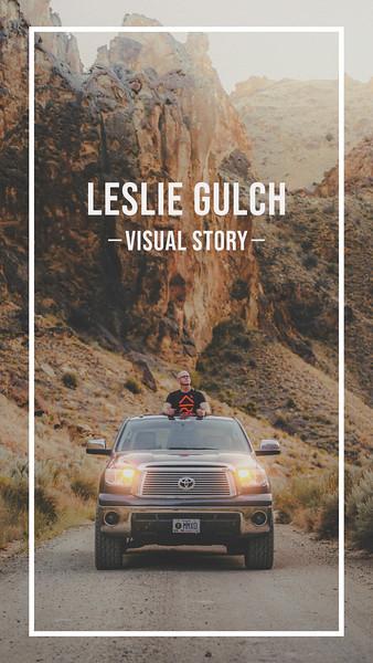 Leslie Gulch Visual Story