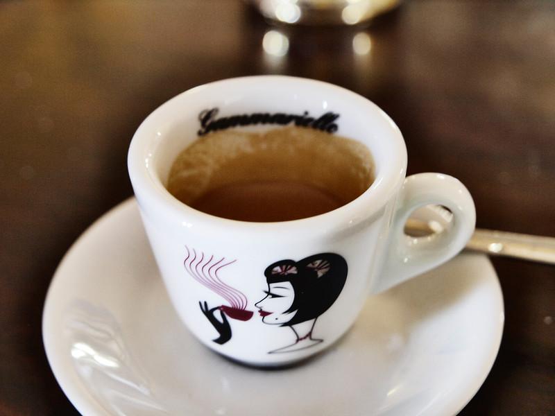 Espresso at Caffé Gammarielo