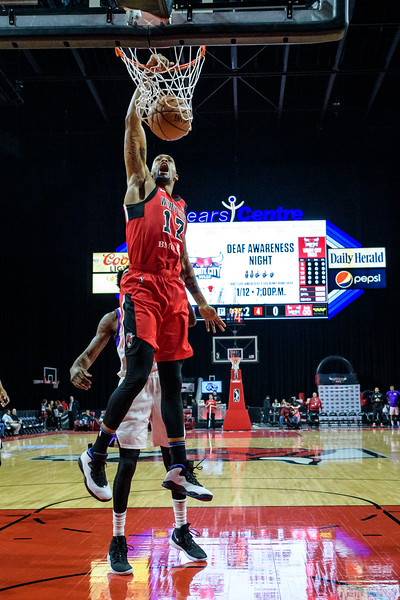 Stockton Kings @ Windy City Bulls @ Sears Centre Arena 01.05.19