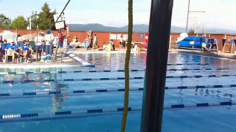 Lakeridge vs Normandy Park - Andrew's 4x25 Freestyle Relay