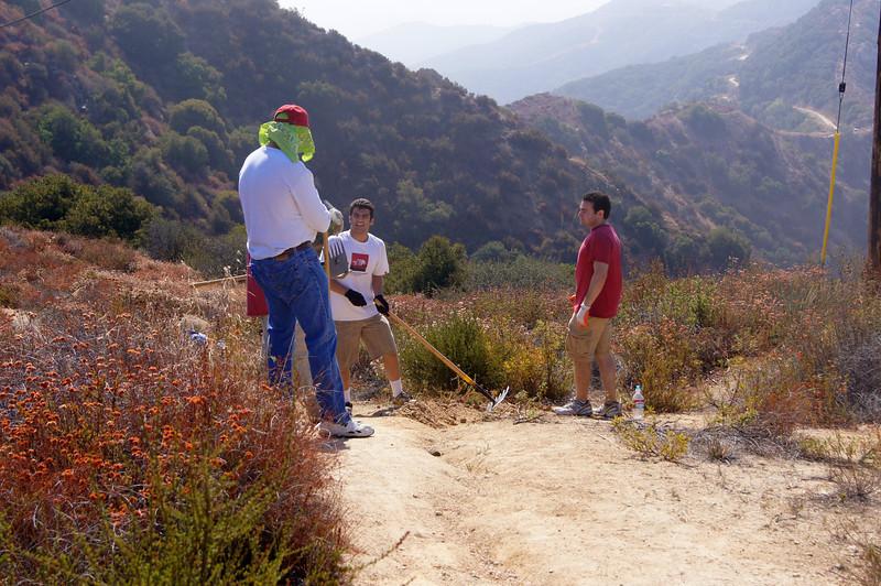 20110911039-Eagle Scout Project, Steven Ayoob, Verdugo Peak.JPG