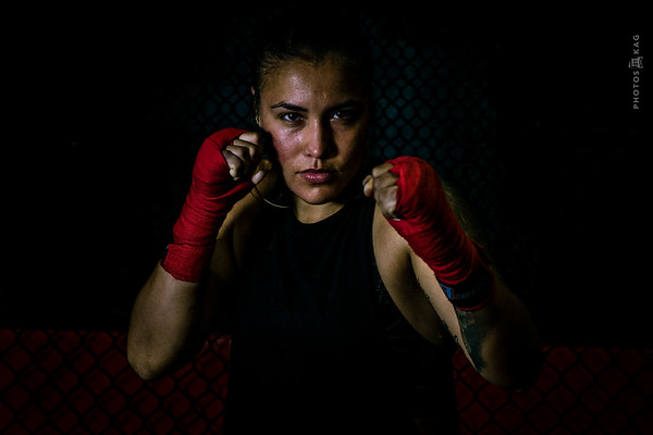 Photographing a Golden Gloves Boxer and MMA Fighter.